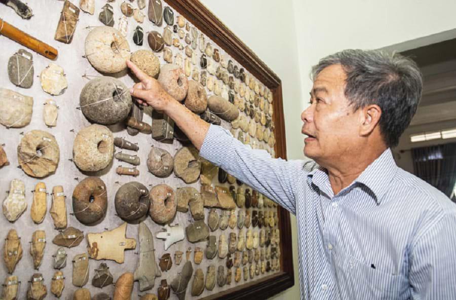 Gặp người sưu tập 10.000 đá cổ: Chứng tích người tiền sử ở Tây Nguyên